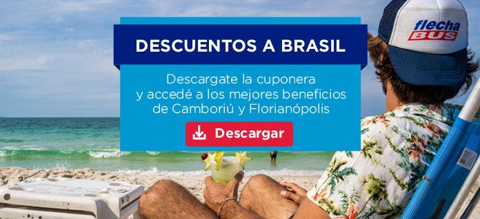 Descuentos exclusivos en Brasil