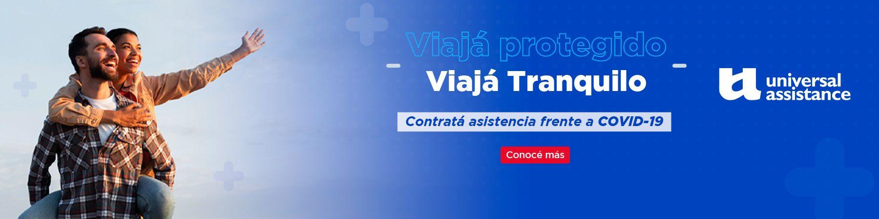 Asistencia al viajero seguro viajar micro flecha Bus Universal Assistance V
